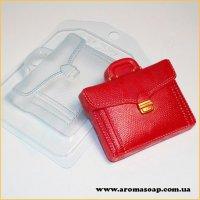 Портфель шкіряний 100г (пластик)