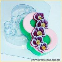 8 Марта/Орхидея по диагонали 95г (пластик)