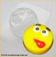 Смайлик с язычком 90г (пластик)