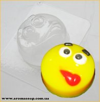 Смайлик з язичком 90г (пластик)