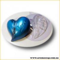 Сердце на молнии 133 г (пластик)