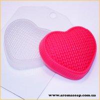 Сердце вязаное 95 г (пластик)