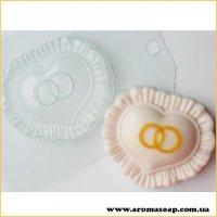 Серце з обручками 90г (пластик)