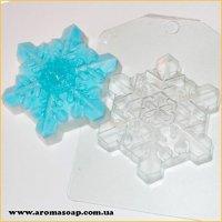 Сніжинка кришталева 90г (пластик)