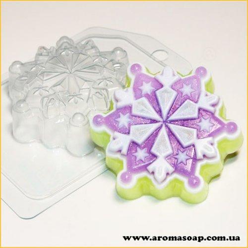 Сніжинка 06 90г (пластик)