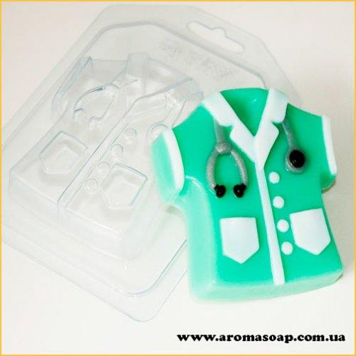 Халат медицинский 100 г (пластик)