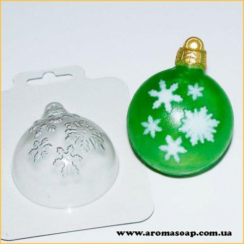 Шар/Снегопад 50 г (пластик)