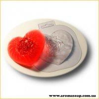 Шелковое сердце 94 г (пластик)
