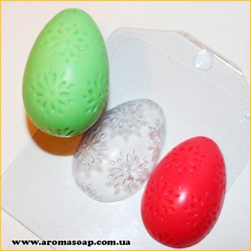 Яйцо/Цветочный орнамент 35 г (пластик)