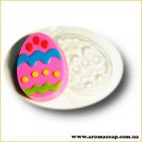 Яйце з візерунком 02 80г (пластик)