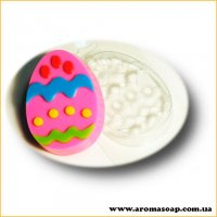 Яйцо с узором 02 80 г (пластик)