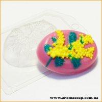 Ветка мимозы 75 г (пластик)
