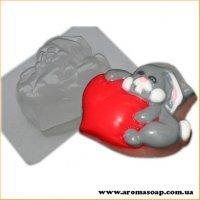 Влюбленный заяц 100г (пластик)