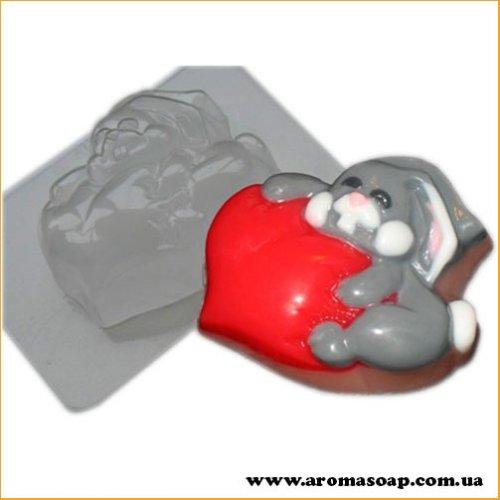 Закоханий заєць 100г (пластик)