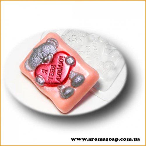 Влюбленный мишка 139  (пластик)