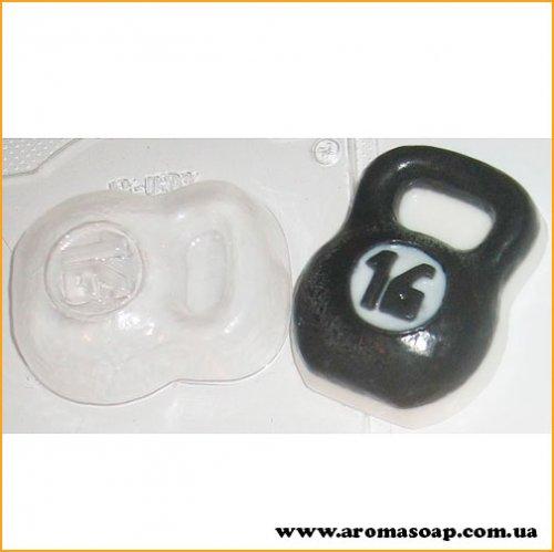 Гиря 100г (пластик)