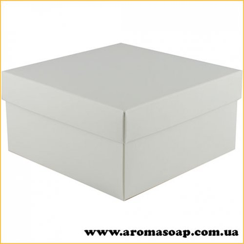 Коробочка подарок Белая