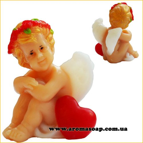 Ангел с сердцем 3D элит-форма