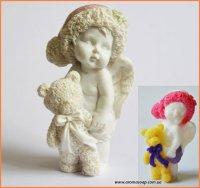 Ангелочек с мишкой 2 3D элит-форма
