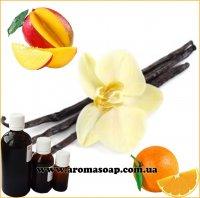 Апельсин, ваниль, манго отдушка для свечей