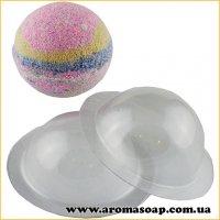Сфера для бомбочек средняя 110 г (пластик)