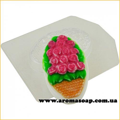 Букет троянд 60 г (пластик)