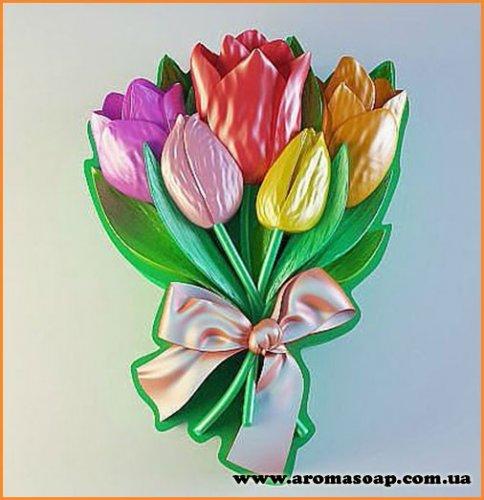 Букет тюльпанов №1 элит-форма
