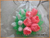 Букет тюльпанів №2 3D еліт-форма