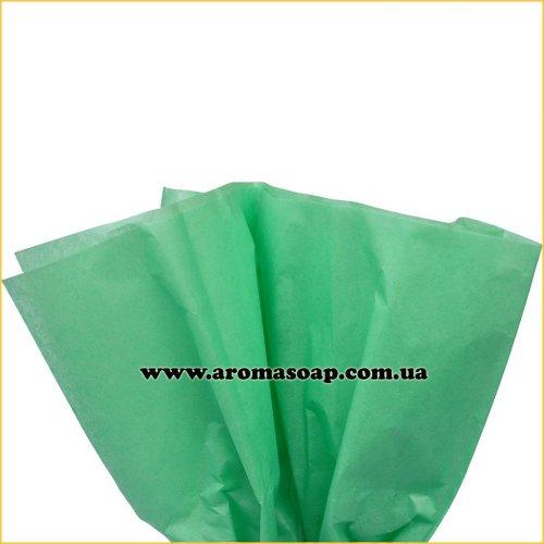 Бумага тишью Светло-Зеленая