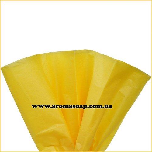 Папір тішью Жовтий