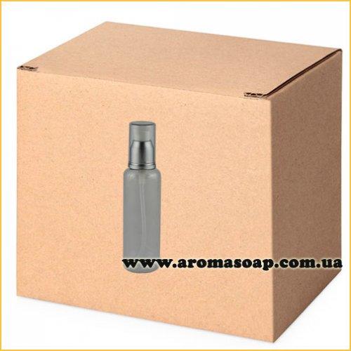 Бутылочка круглая 60 мл + Дозатор алюминиевый ОПТ 500шт