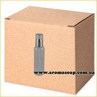 Бутылочка круглая 100 мл + Дозатор алюминиевый ОПТ 500шт