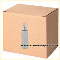 Бутылочка круглая 60 мл+ Пульверизатор алюминиевый ОПТ 500шт