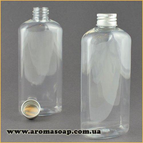 Бутылочка плоская 150 мл + Алюминиевая крышка