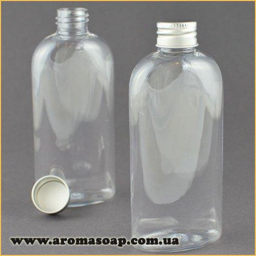 Бутылочка плоская 100 мл + Алюминиевая крышка