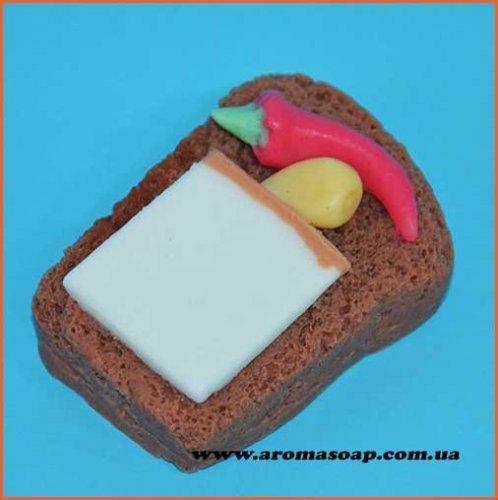 Бутерброд з перцем і салом еліт-форма