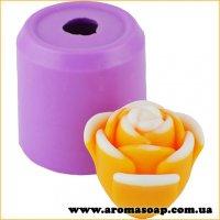 Троянда Аваланж в бутоні 3D еліт-форма