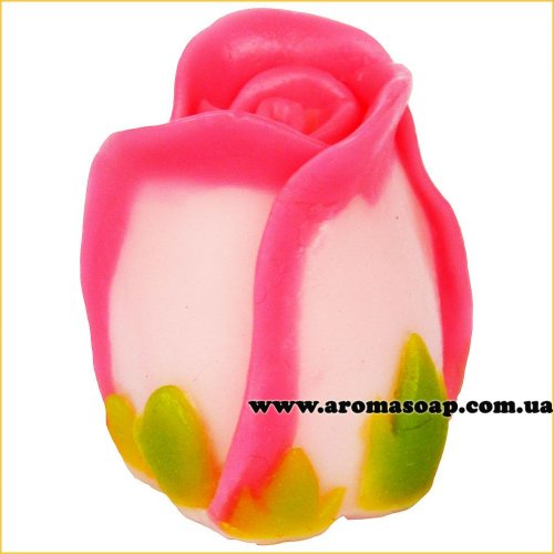 Бутон розы 3D элит-форма