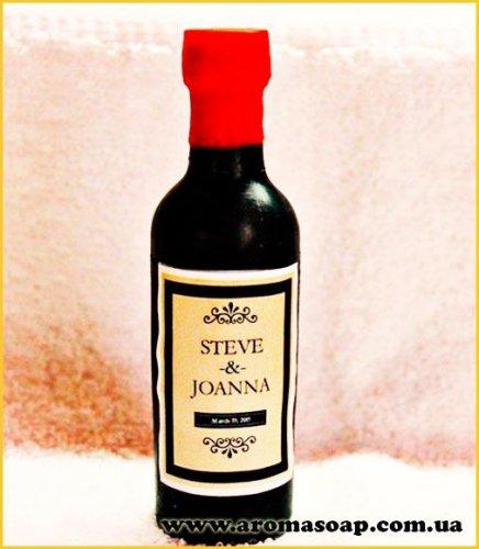 Бутылка вина 3D элит-форма