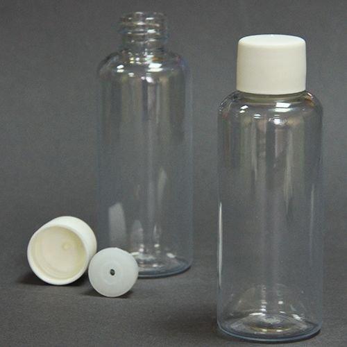 Пляшка кругла 60мл + Ковпачок зі вставкою