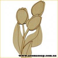 Заготівля з фанери №149 Квіти-2