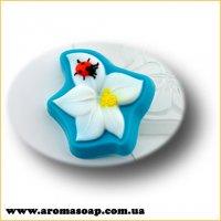 Цветок с божьей коровкой 75 г (пластик)