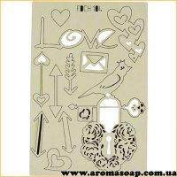 Набір чіпбордов Справи сердечні 2 104