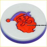 Дед Мороз штамп (силикон)