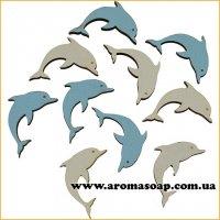 Заготовка из фанеры Дельфины 10 шт