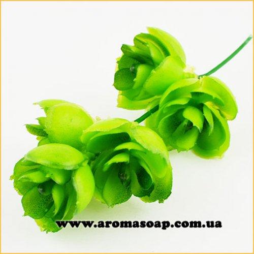 Добавка в букет 36 1 шт Водная лилия салатовая