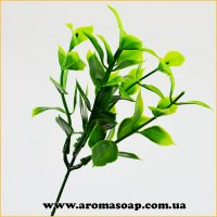 Добавка в букет 37 1 шт Зелене листя