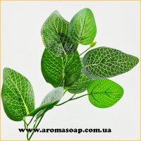 Добавка в букет 35 1 шт листя зелені Юлія