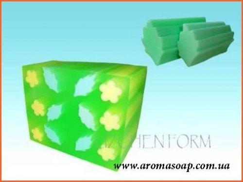 Дубовый листик (для брускового мыла) элит-форма