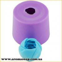 Крокус в бутоне мини для мыльного букета 3D элит-форма
